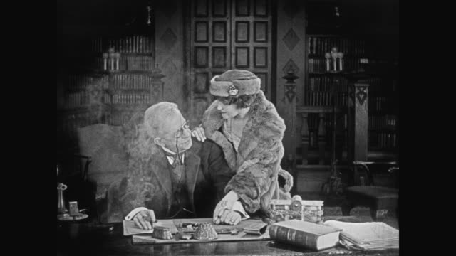 1920 A wealthy woman asks her rich father treat her husband better at work