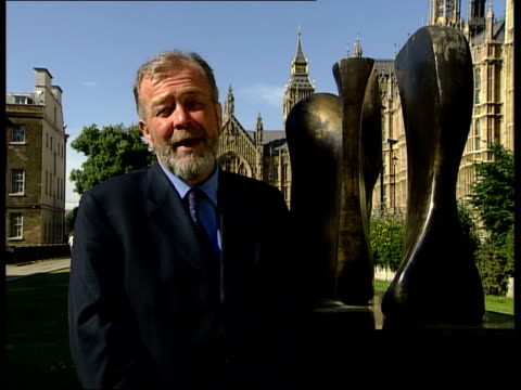 david blunkett comments; itn ext i/c clean feed tape = d0516123 or d0516124 00.03.38 to 00.06.38 mix/fx programme as broadcast tape = d0516122 order... - david blunkett stock videos & royalty-free footage