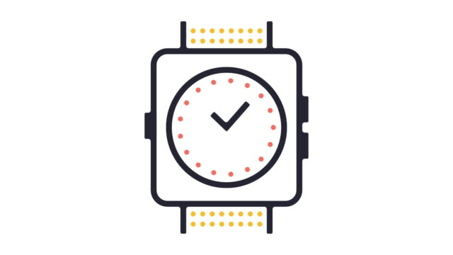 Wearable Technology Icon Animation