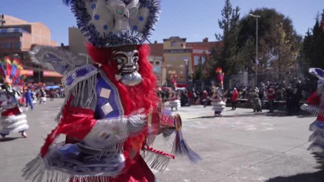 BOL: Bolivian dance troupes mark La Paz Day with parade despite pandemic