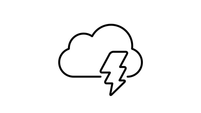 weather and climate - simple animated icons - climate icon stock videos & royalty-free footage