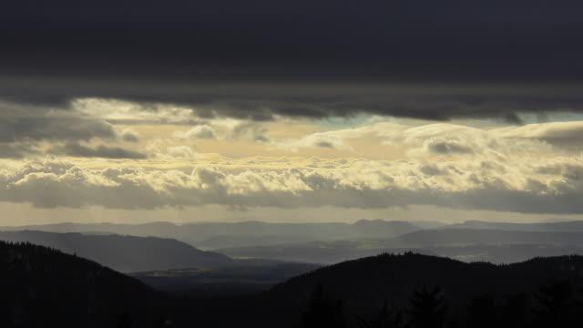 weather change - horizontal stock videos & royalty-free footage