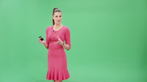 weather girl presenting the weather forecast - presenter stock videos & royalty-free footage