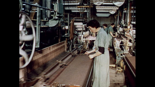 vidéos et rushes de montage weaving mill in scotland - fil mercerie