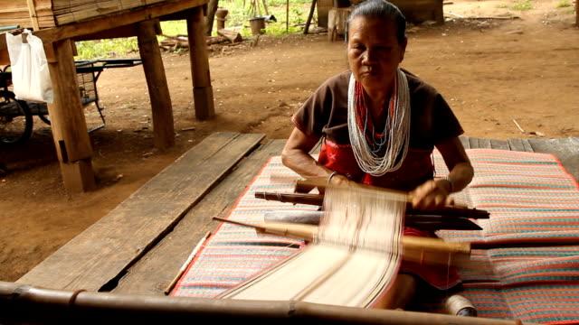 Weaving Silk handmade