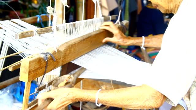 vídeos y material grabado en eventos de stock de tejer, tailandia - hecho en casa