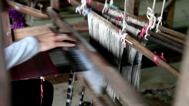 織る - 製造工場点の映像素材/bロール