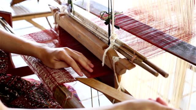 weaving - loom stock videos & royalty-free footage