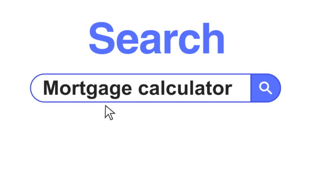 web browser or web page with a search box typing mortgage for internet searching - web browser stock videos & royalty-free footage