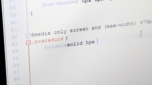 web design css code