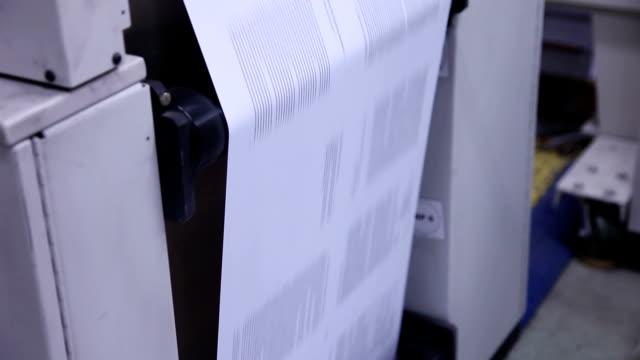 web press... - printout stock videos & royalty-free footage