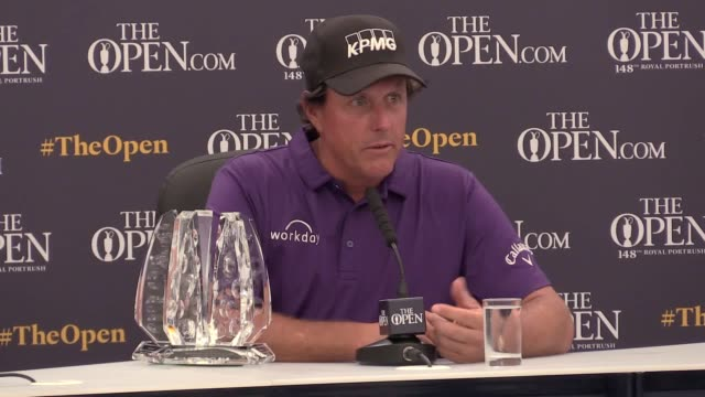 ** websites/broadcast can use up to two unique minutes of video footage per day during the open within 24 hours** phil mickelson receives an award to... - fasting activity stock videos & royalty-free footage