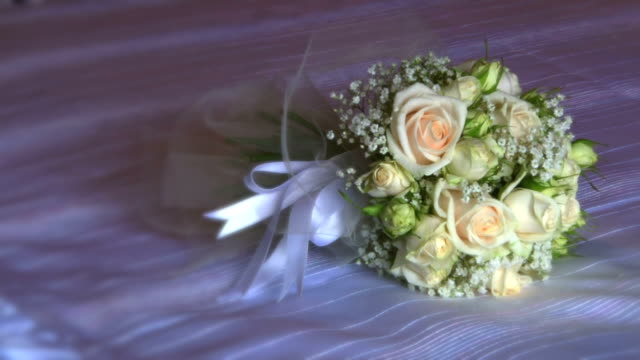 wedding bouquet - double bed stock videos & royalty-free footage