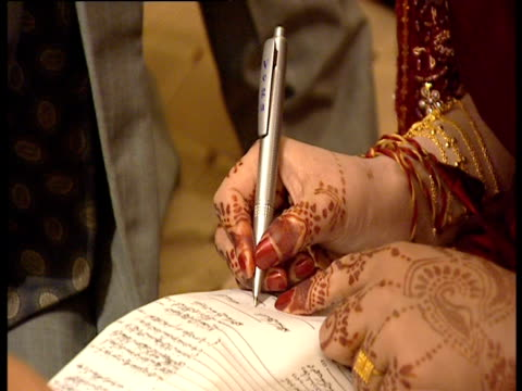 wedding ceremony in pakistan. - pakistan stock videos & royalty-free footage