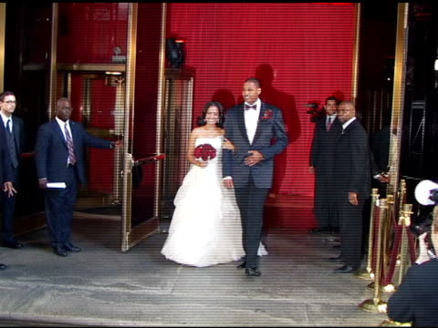 Wedding Ceremony Of Carmelo Anthony And LaLa Vasquez At Ciprianis 42nd Street Restaurant The Celebrity