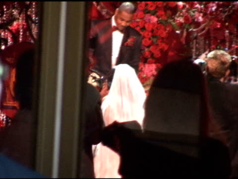 wedding ceremony of carmelo anthony and lala vasquez at cipriani's 42nd street restaurant at the celebrity sightings in new york at new york ny - celebrity sightings stock videos & royalty-free footage