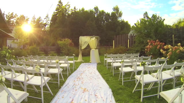 wedding ceremony - group of objects stock videos & royalty-free footage