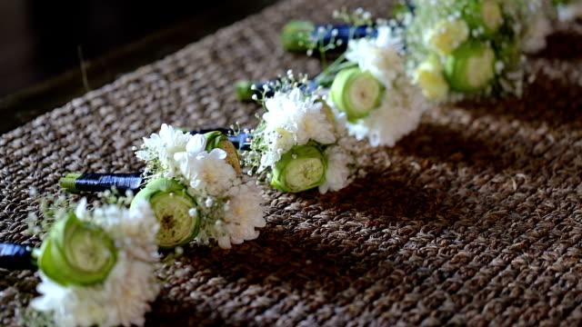 Bröllop corsage.
