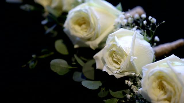 wedding corsage. - high school prom stock videos & royalty-free footage