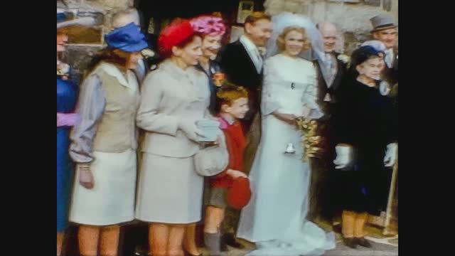 wedding couple outside the church - 1942 stock videos & royalty-free footage
