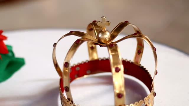 Wedding crown in Orthodox church