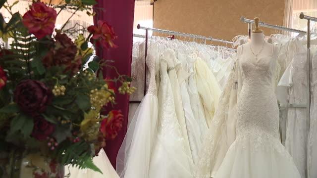 KSWB Wedding Dresses on Display