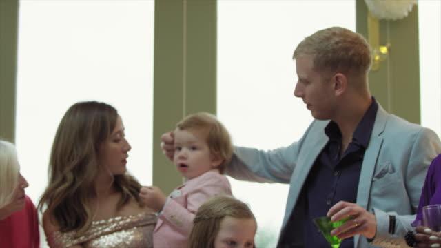 wedding guests - ウィルトシャー州点の映像素材/bロール
