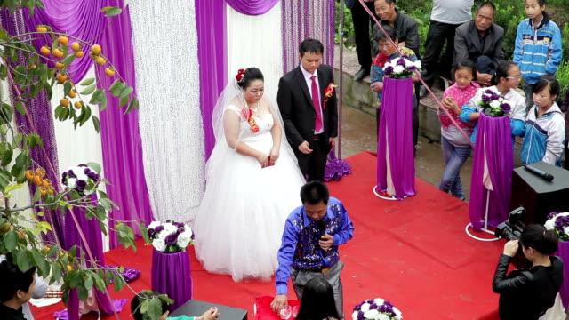 HA LS wedding in chinese rural areas of Xianyang, Shaanxi, China