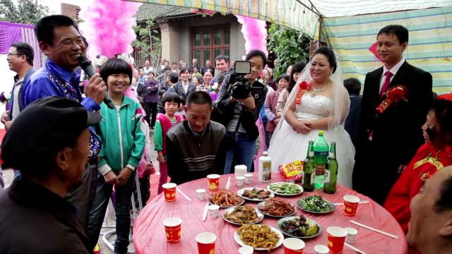 WS wedding of chinese rural area of Xianyang, Shaanxi, China