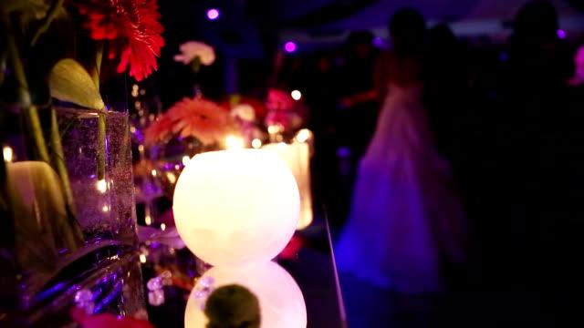 Festa de casamento de velas