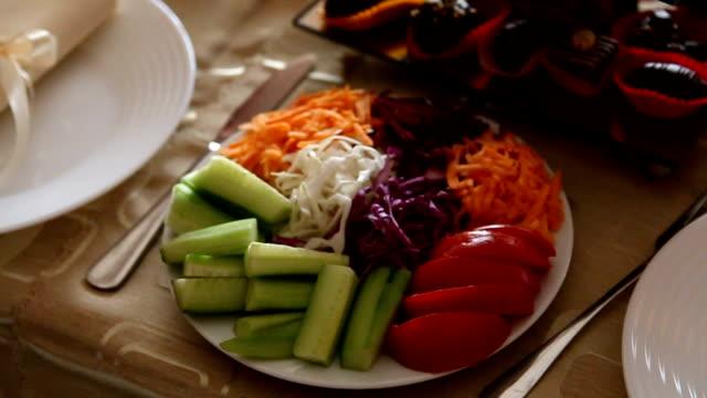 Wedding Reception Salad Plate