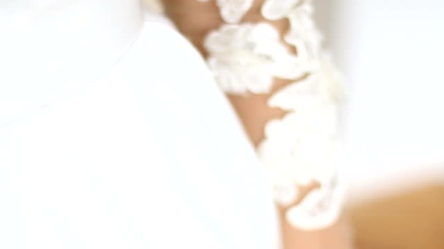 Wedding ring-bride on her wedding