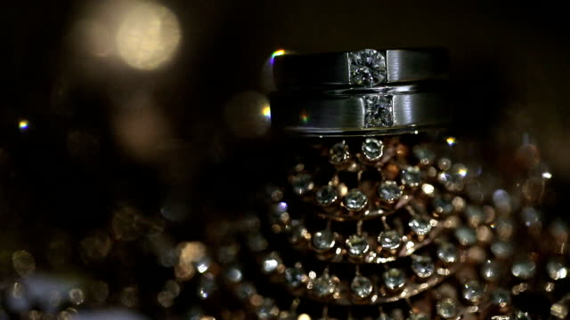 wedding rings. - ring stock videos and b-roll footage