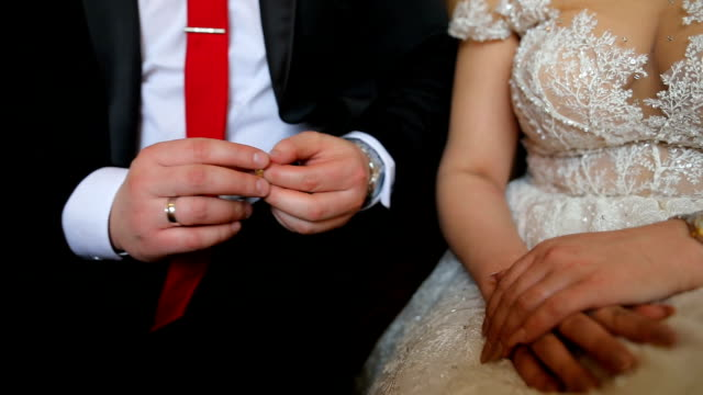wedding - wedding ring stock videos & royalty-free footage