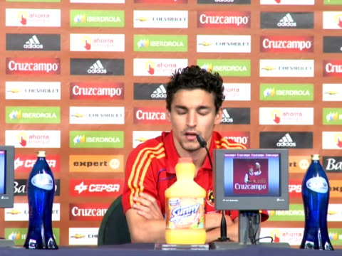 wednesday, spain's reserve goalkeeper pepe reina praised a german side much changed since the two european heavyweights met in the final of euro 2008. - 50 seconds or greater stock videos & royalty-free footage