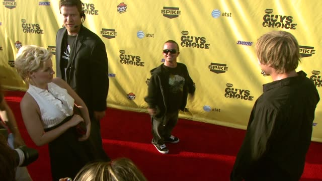 wee man at the spike tv's guys' choice awards at radford studios in los angeles california on june 10 2007 - spike guys choice awards video stock e b–roll