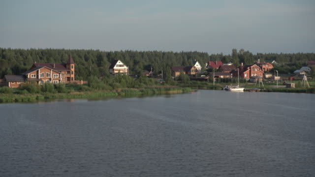 Weekend vacation houses outside Moscow