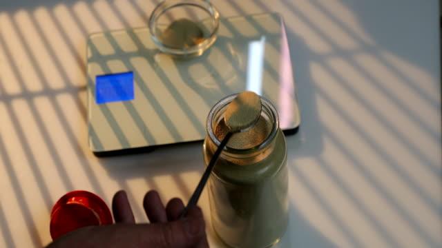 weighing dry yeast - yeast stock videos & royalty-free footage