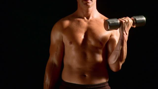 hd :ウエイトリフティング - 筋肉質点の映像素材/bロール