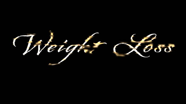 vídeos de stock, filmes e b-roll de perda de peso de ouro fundido script - sc47