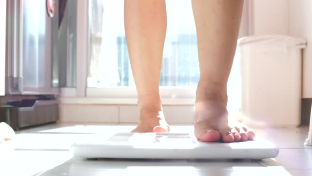 weight scale - weight scale stock videos & royalty-free footage