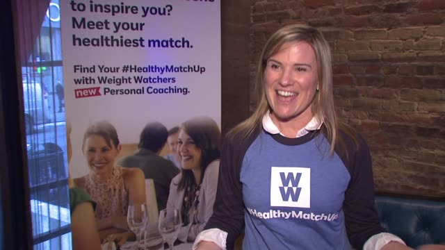 CLEAN Weight Watchers #HealthyMatchUp Event at Tender at the Sanctuary Hotel on January 08 2015 in New York City