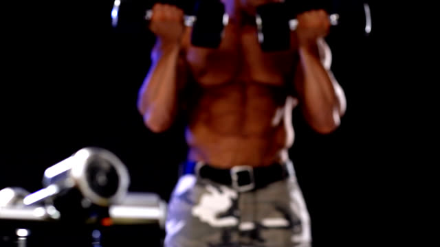 weights - navel stock videos & royalty-free footage