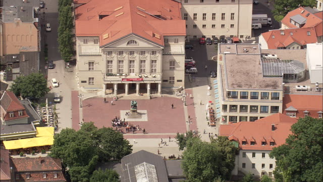 weimar national theatre - weimar stock videos & royalty-free footage
