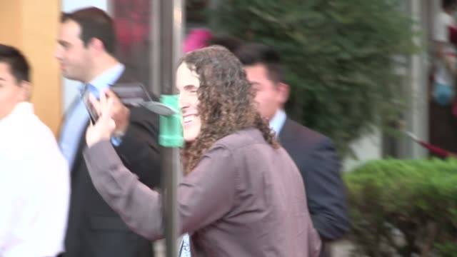 weird al yankovic arrives at the red 2 premiere at westwood village in los angeles 07/11/13 - westwood village stock-videos und b-roll-filmmaterial