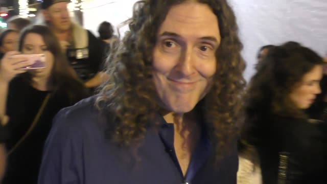 'Weird Al' Yankovic at Coco Premiere in Hollywood in Celebrity Sightings in Los Angeles