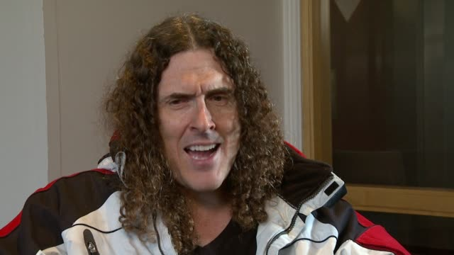 Weird Al Yankovic on how there are less music superstars nowadays at the Weird Al Yankovic Interview at London England