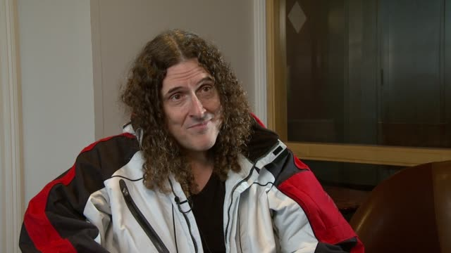 Weird Al Yankovic on the music industry demise and how it's changed his performance at the Weird Al Yankovic Interview at London England