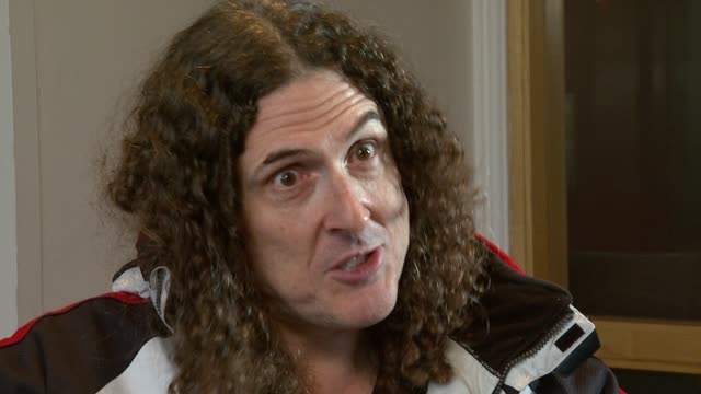 Weird Al Yankovic on the younger generation of fans at the Weird Al Yankovic Interview at London England