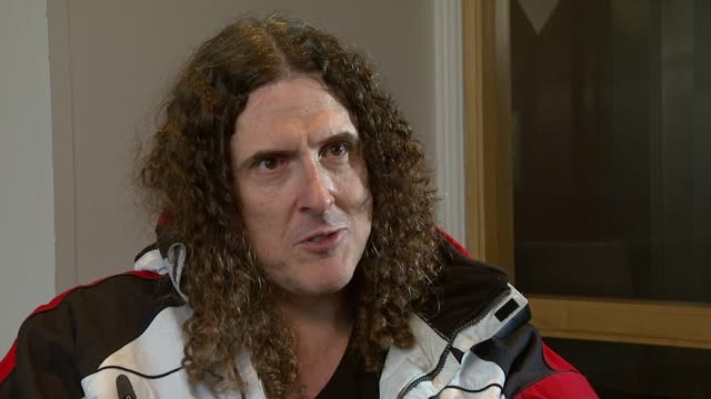 Weird Al Yankovic on where his ideas come from at the Weird Al Yankovic Interview at London England